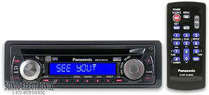 Panasonic CQ-C1301U AM/FM CD Player WMA/MP3/CD Receiver NEW!!