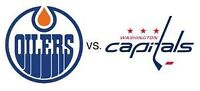 Edmonton Oilers Tickets vs. Washington Capitals Friday Oct. 23