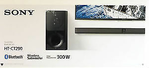Sony HTCT290 300-Watt 2.1 Channel Bluetooth Sound Bar Soundbar