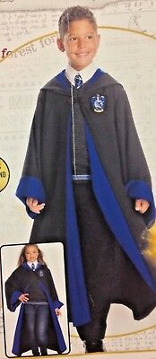 HARRY POTTER RAVENCLAW'S HOUSE STUDENT CHILD HIGH END COSTUME ROBE,SWEATER,TIE