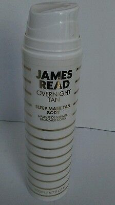 James Read Overnight Tan Sleep Mask Tan Body 6.7 oz New PLEASE READ