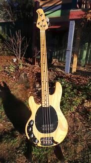 1997 Ernie Ball Stingray bass - Left handed