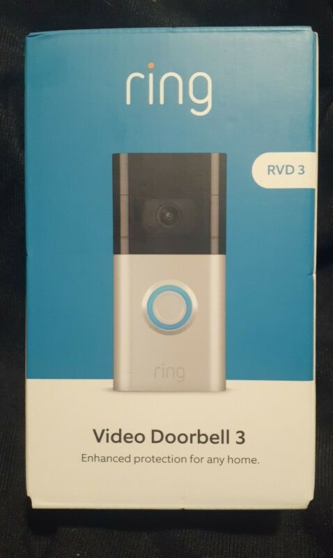 NEW Ring Video Doorbell 3 RVD Motion Activated
