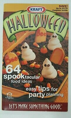 Kraft Halloween Recipe Book Cookbook Food Cooking Party Tips Ideas Planning BHG](Halloween Food Party Ideas)