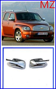 For 2006-2011 Chevy HHR Chrome Full Mirror Covers Pair Set