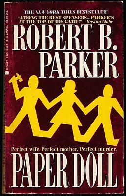 Spenser Novel: Paper Doll by Robert B. Parker (1994, Paperback) VINTAGE, VGC