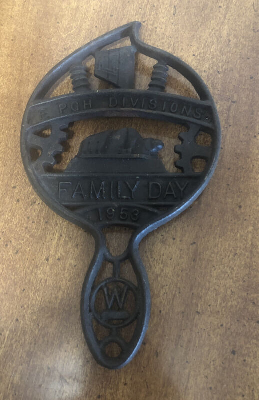 EAST PITTSBURGH DIVISION OF WESTINGHOUSE FAMILY DAY 1953 Trivet