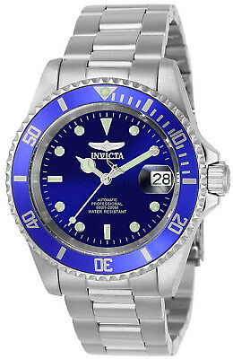 Invicta 9094OB Pro Diver Blue Dial Stainless Steel Automatic Men's Watch