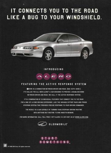 1998 Oldsmobile Alero Magazine Print Ad