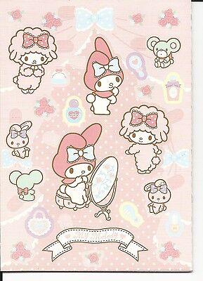 Sanrio My Melody Stickers Sticker Book Piano 198 Seals
