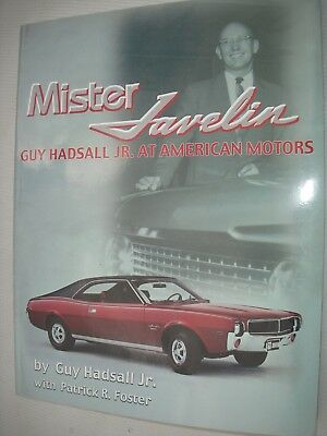 Amc Nos Book Mister Javelin Guy Hadsall