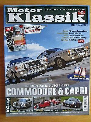 Motor Klassik 5/08: Opel Commodore, Ford Capri, Porsche Turbo, Mercedes SEL 6.3