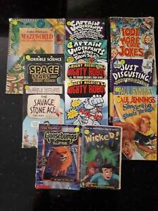 Children's Mixed Books Bag, 13 titles, suit 9-11yrs