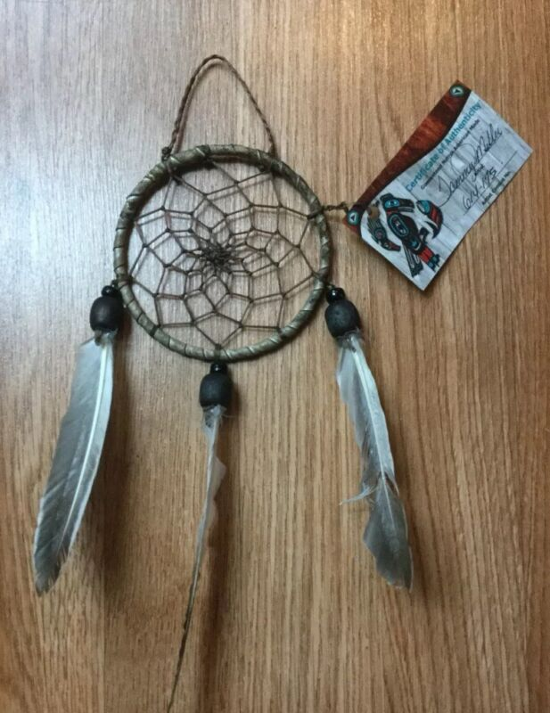 Native American Handcrafted Dream Catcher Wall Hanging Decor By Tammy Miller