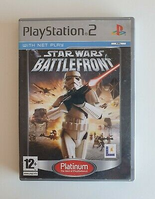 Star Wars: Battlefront -- Platinum Edition (Sony PlayStation 2, 2005)