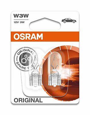 OSRAM GLÜHBIRNEN ORIGINAL W3W 12V 3W W2.1x9.5d STANDLICHT POSITIONSLICHT