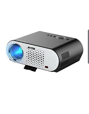 CiBest Video Projector Portable, GP90 LCD Projector HD 1080p LED 3500 lumens