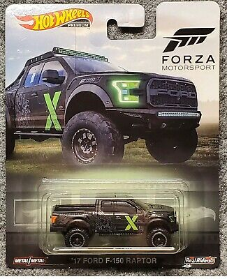Hot Wheels Premium Forza Motorsport 17 Ford F-150 Raptor