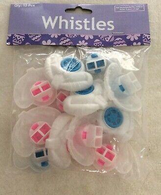 12 pk Easter Bunny Lip Whistles-Easter Baskets-Egg Hunts-Teacher Supply. NIP!