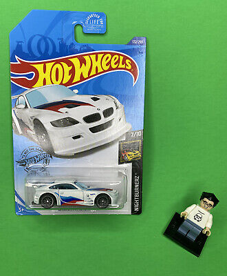 Hot Wheels 2020 BMW Z4 M Motorsport White HW  Rare HTF New Car Euro Race Metal