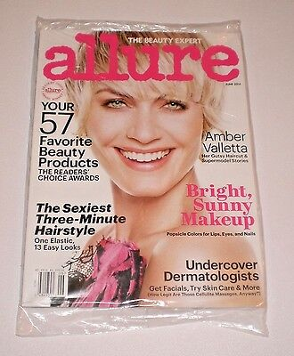 Amber Valletta Allure Magazine June 2014 6 14 Sealed  A 2 2