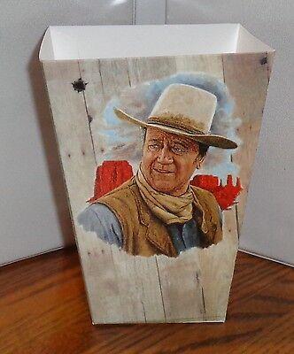 John Wayne Popcorn Box 1. El Dorado Rio Bravo Mclintock Chisum. Free Ship.