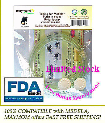Retail Pack of 2 Tubing for MEDELA Pump In Style Advanced ( 8007212 )