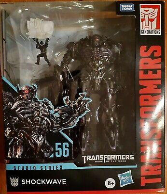 Transformers Studio Series SHOCKWAVE #56 DOTM Leader IN STOCK Hasbro/Takara