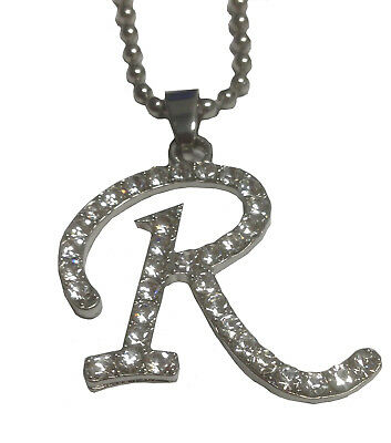 R Necklace Regina George Mean Girls Movie Costume Plastics Letter Pendant Gift](Mean Girls Costume)