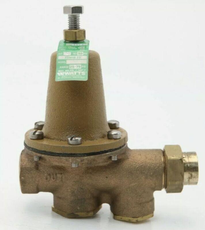 Watts Lead Free Water Pressure Reducing Valves