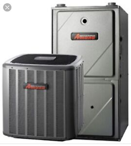 High efficiency furnace and AC