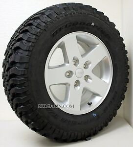 New Take Off  Jeep Wrangler Sahara Rubicon Wheels W/ BFG 255/75/17 Tires
