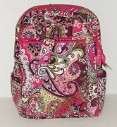 Vera Bradley Very Berry Paisley Backpack