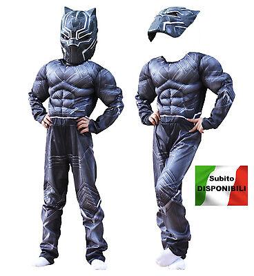 ähnlich Black Panther Faschingskostüme Kinder Herren Cosplay Kostüm - Black Panther Kostüm Cosplay