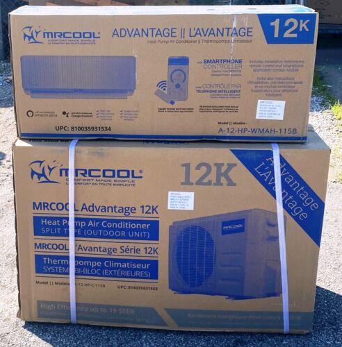 MRCOOL Advantage 2 12,000 BTU 19 SEER Ductless Mini Split AC/Heat Pump 115 volt