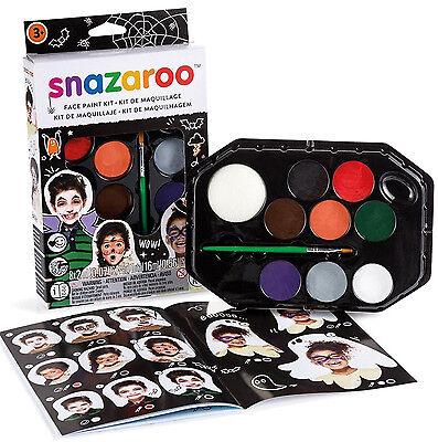 SNAZAROO HALLOWEEN FACE PAINTING KIT (Snazaroo Face Painting Kit Halloween)