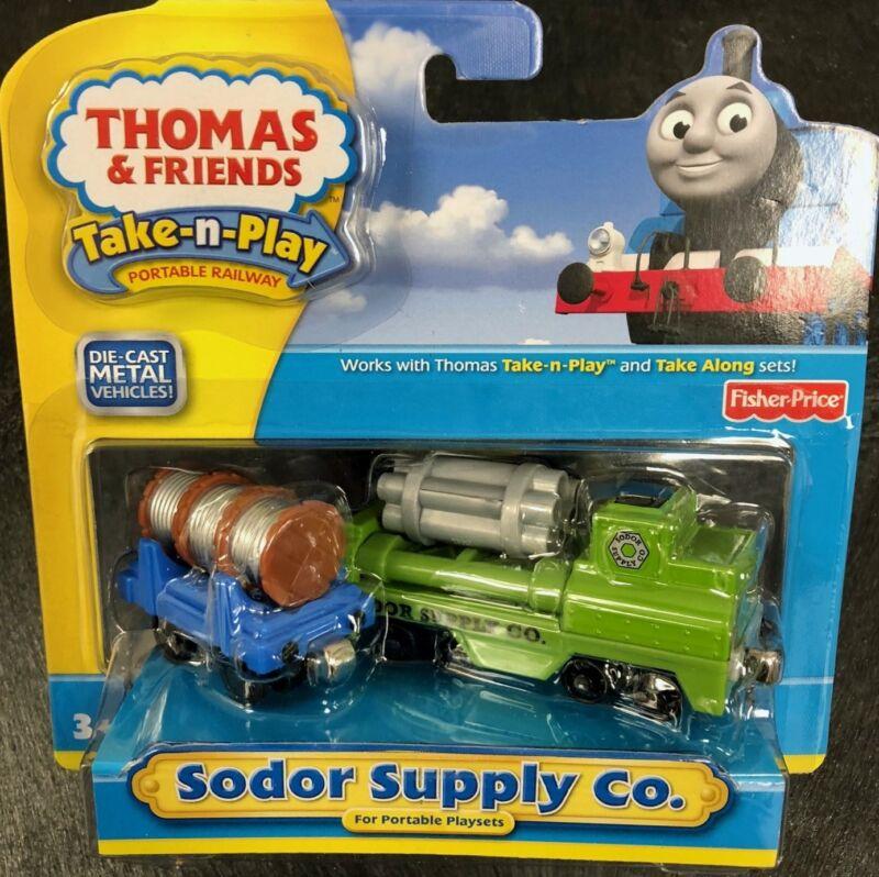 Thomas & Friends Take-n-Play SODOR SUPPLY CO Die-Cast Metal