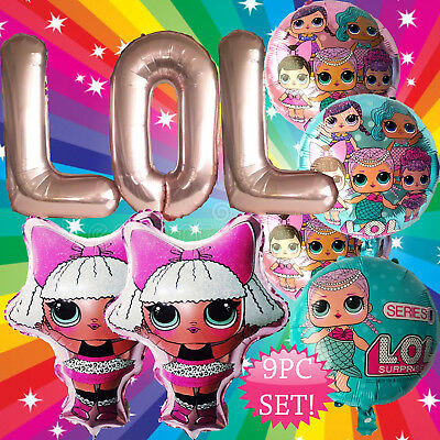 GIANT SET DIVA GIRL LOL SURPRISE DOLL Birthday Party Balloon Balloons Supplies](Party Birthday Girl)
