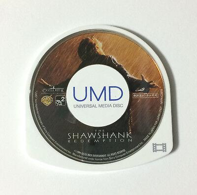 USED PSP Disc Only UMD Video The Shawshank Redemption JAPAN Shawshank no Sora ni