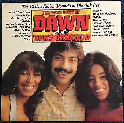 Dawn Featuring Tony Orlando - 'The Very Best of Dawn' vinyl 2188/2002