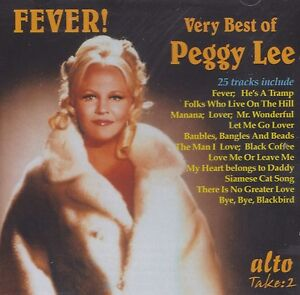 [NEW] CD: PEGGY LEE: FEVER! VERY BEST OF PEGGY LEE