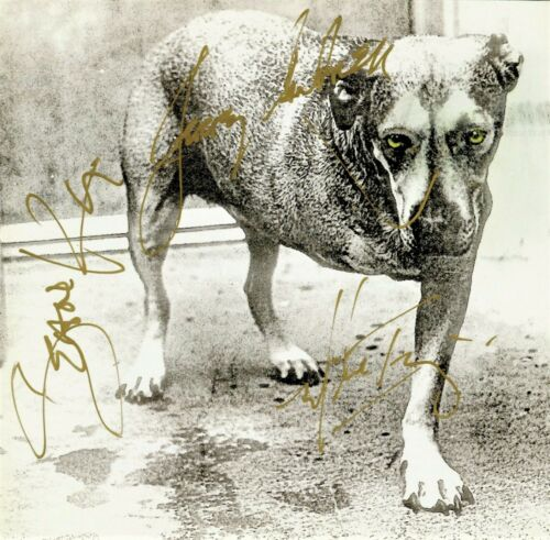 Alice in Chains hand signed 3 Legged Dog CD, Layne Staley +3