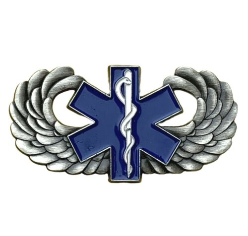 Star of Life EMT Medical Wings Air Ambulance Hat or Lapel pin EE19006 F6D4K