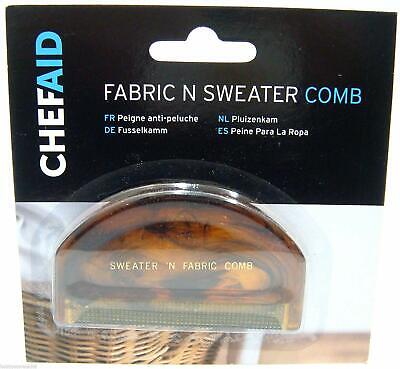 Chef Aid Fabric N Sweater Comb Fabric Comb Removes Fluff Hair Lint Dust Remover