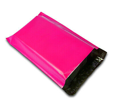 12x15.5 Hot Pink Poly Mailers Shipping Envelopes Self Sealing Mailing Bags 12x15