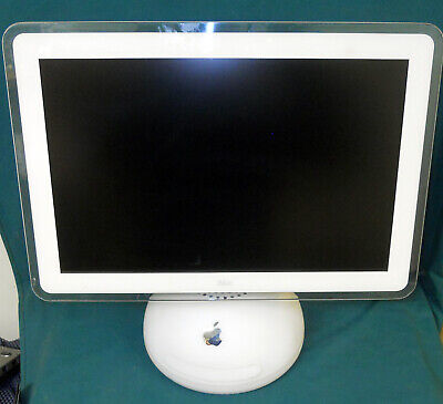 "Apple G4 iMac 20"" Sunflower Snowball 1.25GHz G4 2GB Ram 120gb HD 10.5.8 Airport"