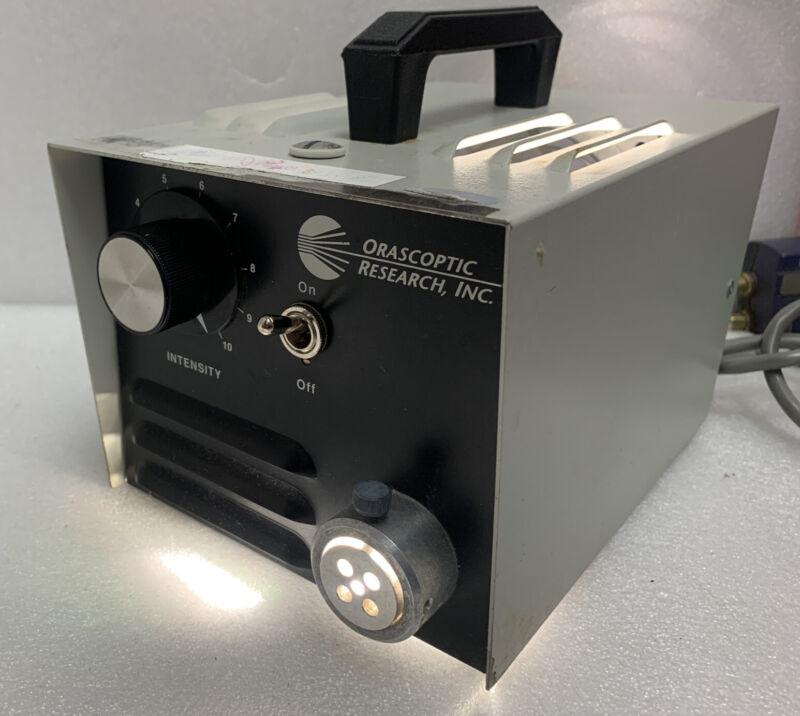 Fiber Optic Illuminator Orascoptic Research Inc.  200w