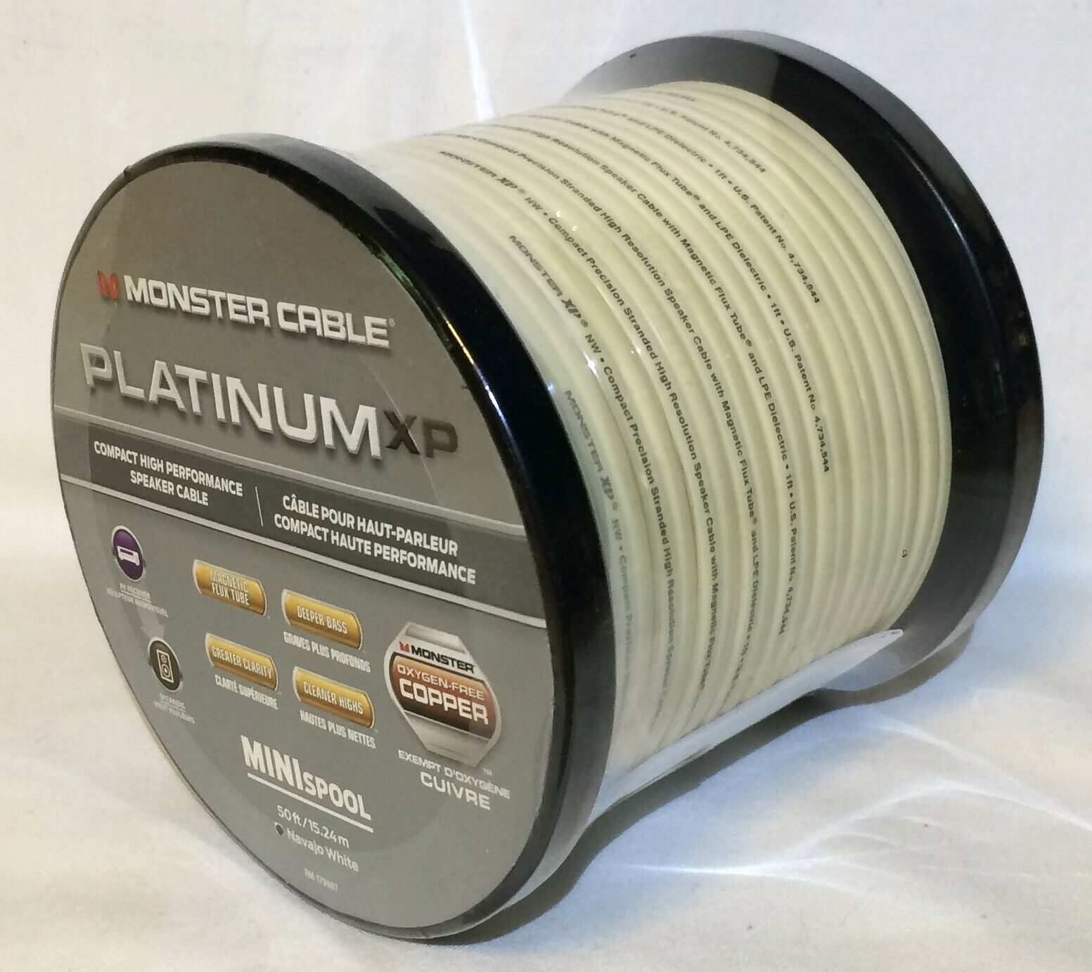 Monster Cable MC PLAT XPNWMS-50 WW Platinum XP Navajo White