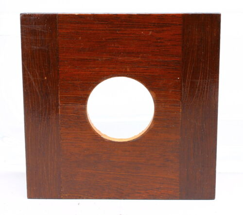 DEARDORFF 4X4 WOOD LENS BOARD 35mm hole #20