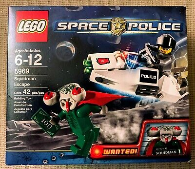 NEW Lego Space Police 5969 Squidman Escape - Authentic Factory Sealed Brand NEW